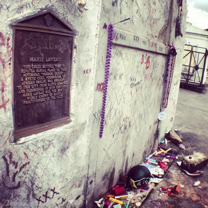 Madame Laveau's Grave
