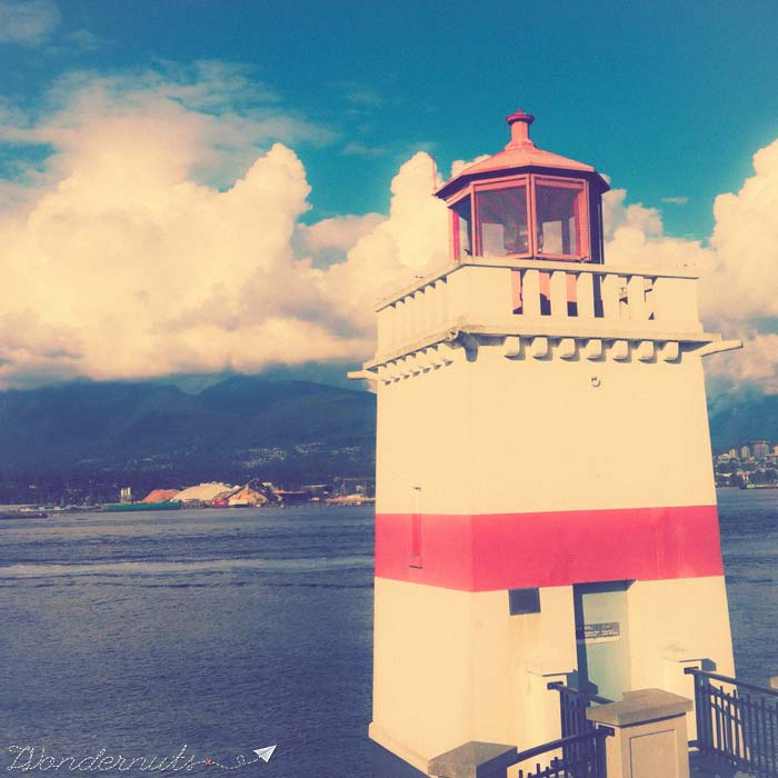 lighthouse in Stanley Park