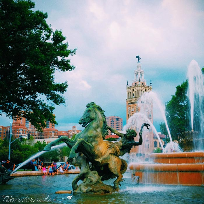 Kansas City: home of the most fountains in the world. Yet one more reason to visit.